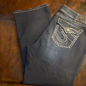 Plus Size Silver Suki Surplus Jeans